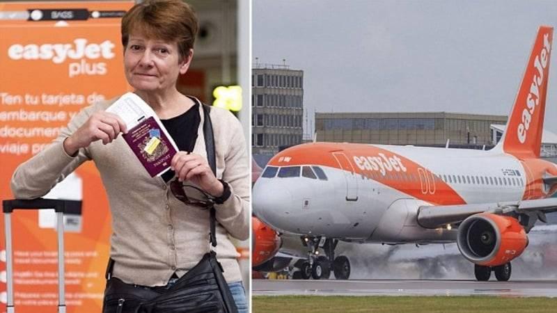 easyJet со скандалом выгнал женщину из самолета из-за ссоры со стюардессой