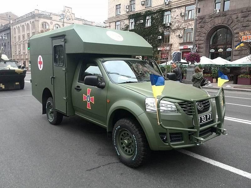 """В ВСУ раскритиковали санитарные автомобили """"Богдан"""""""