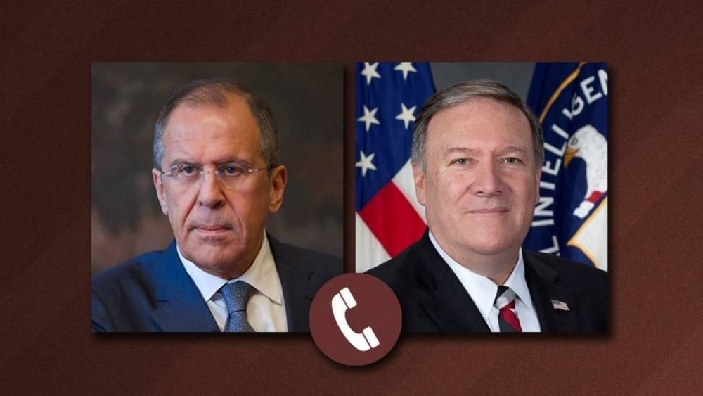 Лавров обсудил с Помпео урегулирование в Сирии и ситуацию с КНДР