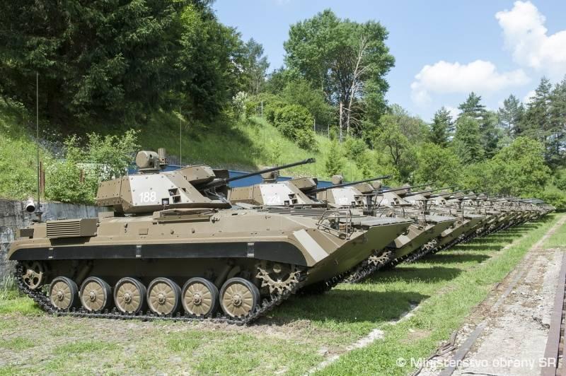 Армия Словакии вооружилась модернизированными БМП-1