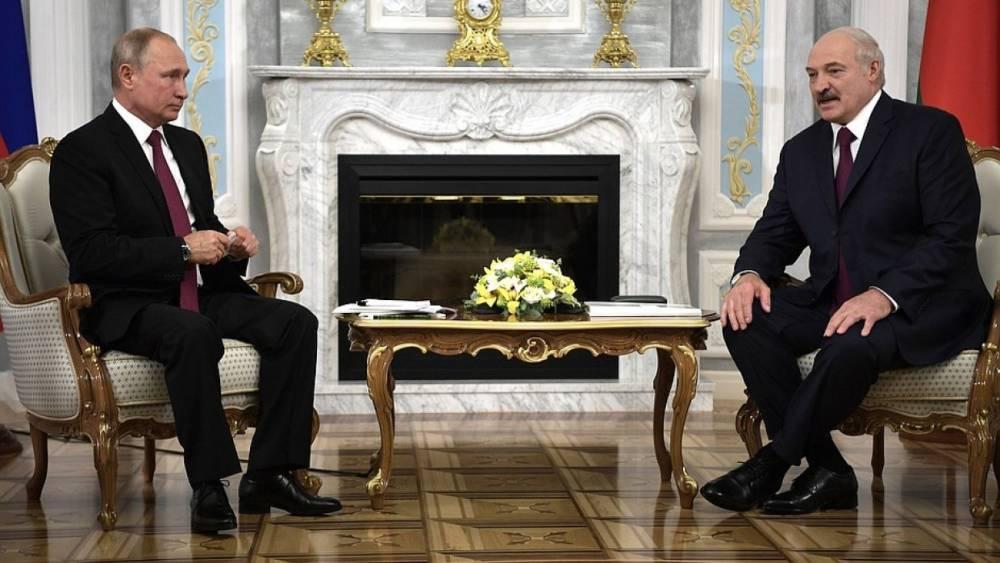 Путин спрогнозировал рост товарооборота с Белоруссией до 50 млрд долларов