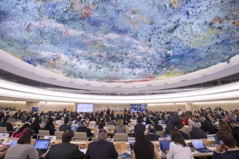 Постпредство РФ прокомментировало выход США из Совета по правам человека ООН