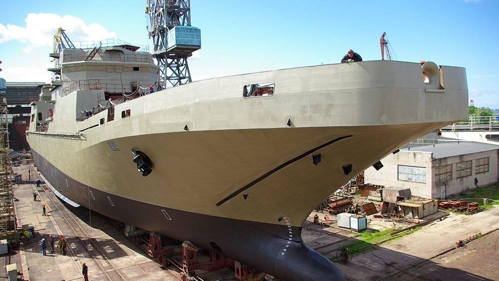 Большой десантный корабль «Иван Грен» поступил на службу ВМФ РФ