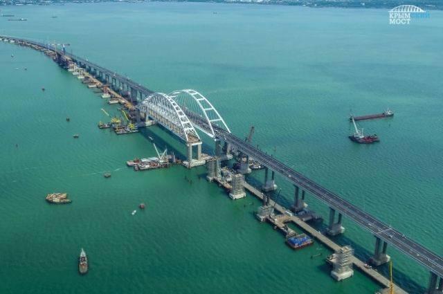 Полмиллиона автомобилей проехали по Крымскому мосту с момента его открытия