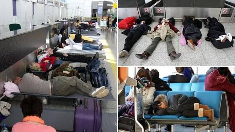 Не спать! Патрули лондонского аэропорта Станстед будут будить уставших пассажиров