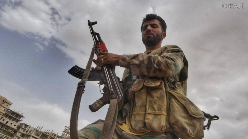 Сирия: САА отбила неожиданную атаку боевиков в районе Эль-Кунейтры — видео ФАН