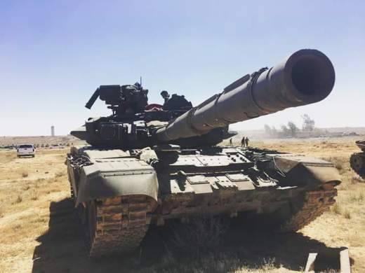 Наступление сирийской танковой группировки поддержит РСЗО «Голан-1000»