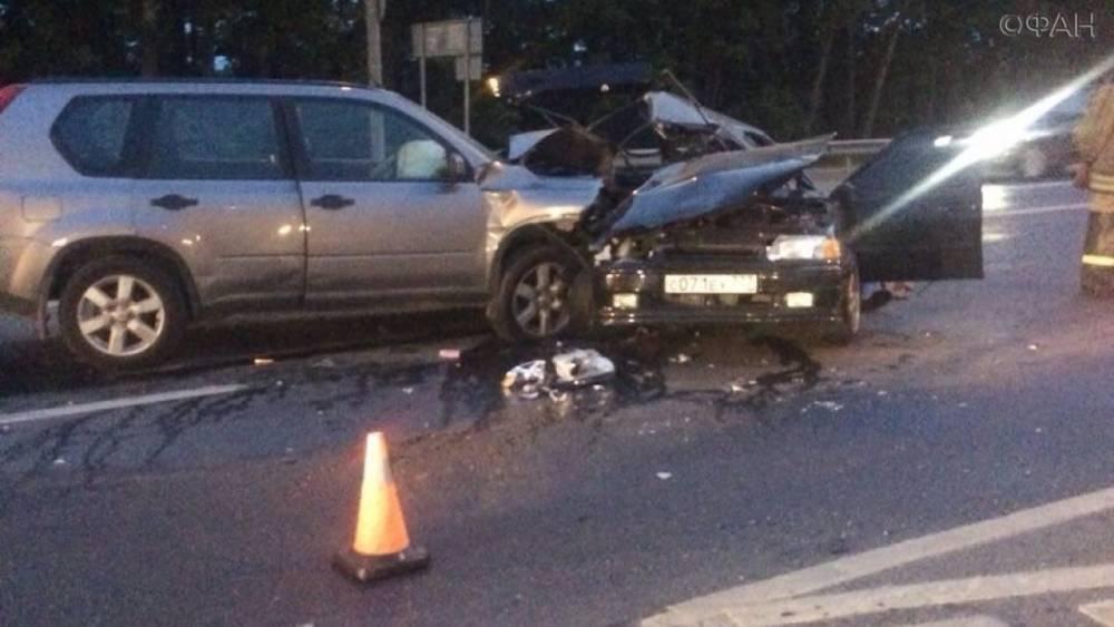 В Московской области произошло смертельное ДТП, ФАН публикует видео с места аварии
