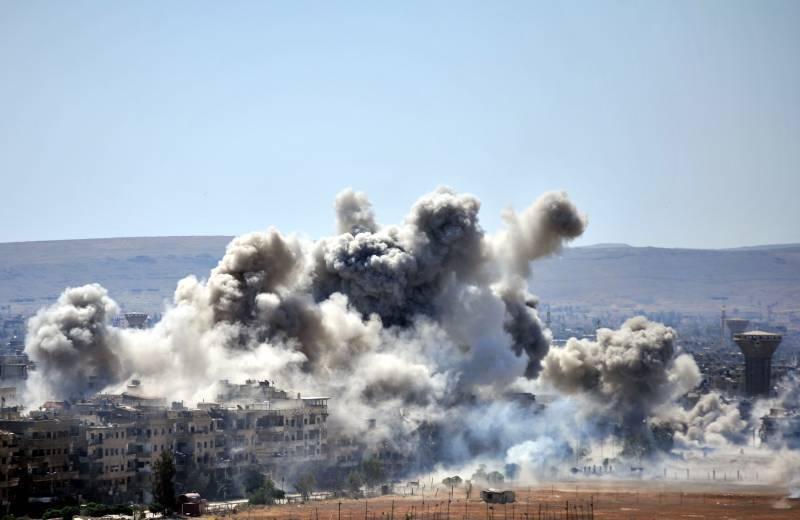 Ситуация в Сирии. Проамериканские боевики нанесли удар по САА в Хомсе