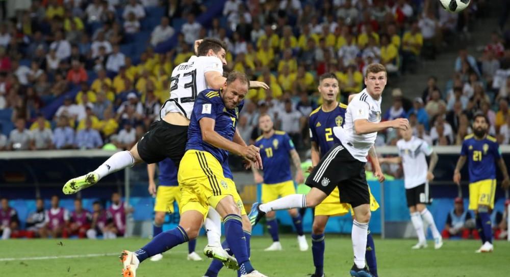 Сборная Германии обыграла Швецию в важнейшем матче группового этапа ЧМ-2018