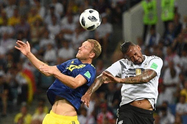 Германия обыграла Швецию в матче группового этапа ЧМ