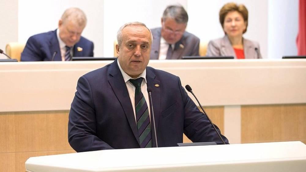 Клинцевич назвал «надуванием щек» заявления о «Московии» на Украине