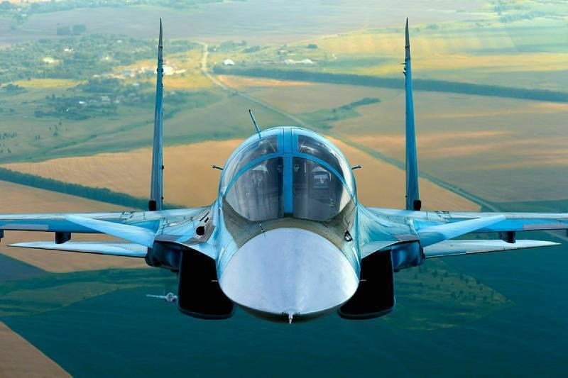 Су-34 назван лучшим в мире ударным самолетом