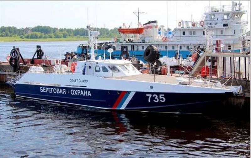 Черноморские пограничники получили очередной катер проекта 12150 «Мангуст»
