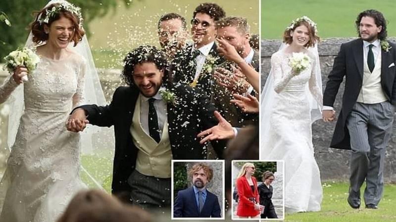 """Свадьба звезд """"Игры престолов"""": церемония прошла в великолепном родовом замке невесты"""