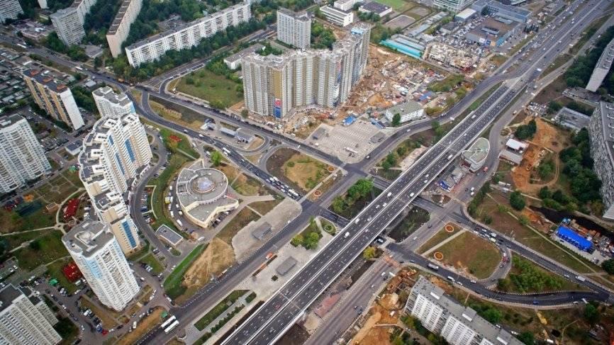 В столице открыли новую дорогу в ТиНАО