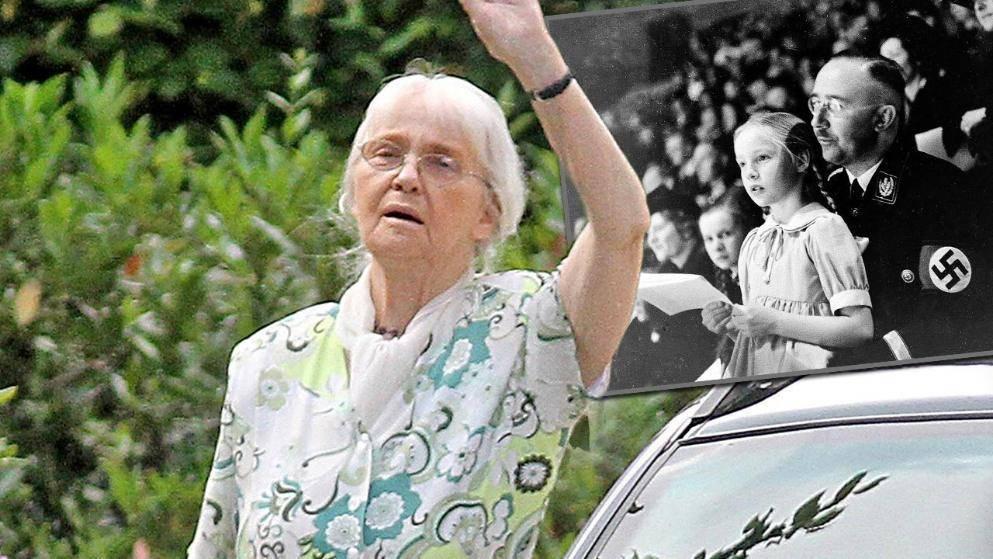 Дочь Гиммлера умерла в возрасте 88 лет