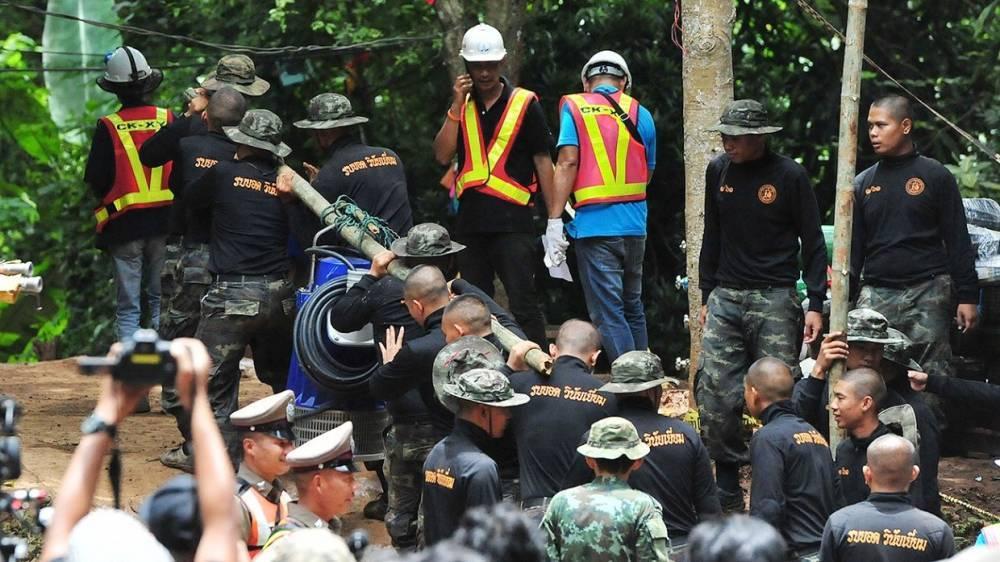 Началась третья фаза эвакуации детей из пещеры в Таиланде