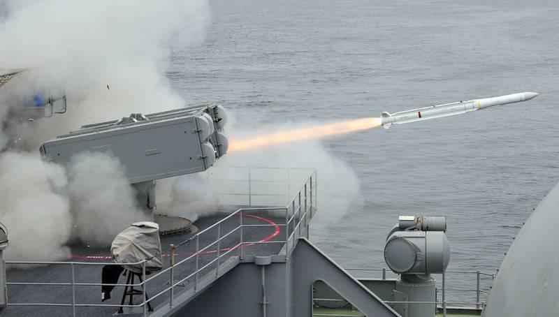 В США провели испытания новой зенитной ракеты