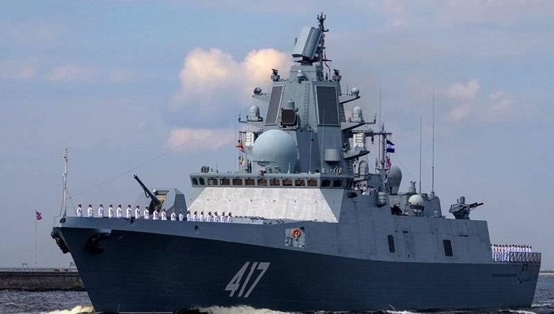 """ВМФ: Сроки сдачи флоту фрегата """"Адмирал Горшков"""" переноситься не будут"""