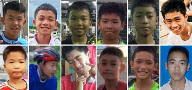 Детская футбольная команда из Таиланда наконец-то на свободе