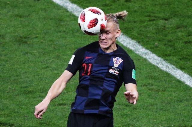 Болельщики освистали хорватского футболиста Виду во время матча с Англией