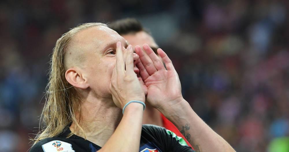 Хорватский футболист Вида извинился перед россиянами за свои высказывания