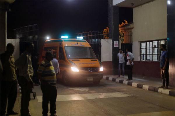 Взрыв у Каирского аэропорта: 12 пострадавших
