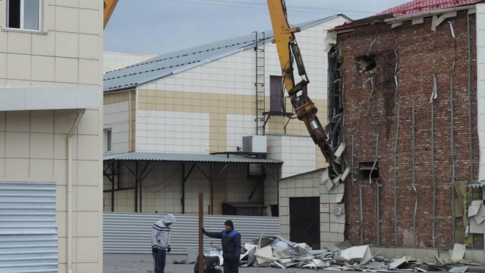 СК РФ разрешил снести  «Зимнюю вишню» в Кемерово