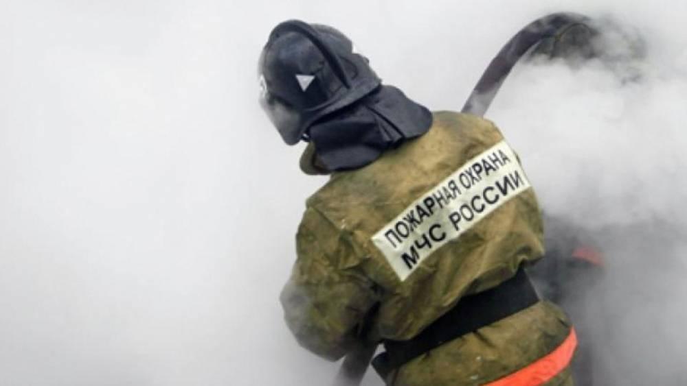 Квартира горит в доме на Новом Арбате, ФАН публикует видео