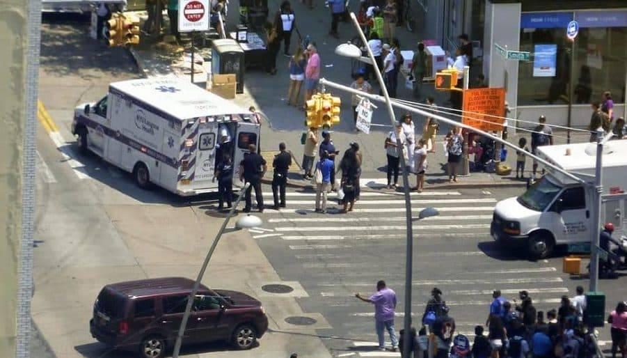 Стрельба в Бруклине: двое пострадавших, один погибший