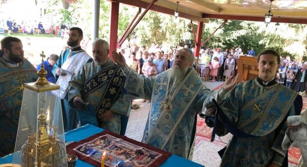 В Домбокском монастыре почтили день перенесения иконы «Скоропослушница» на Закарпатье