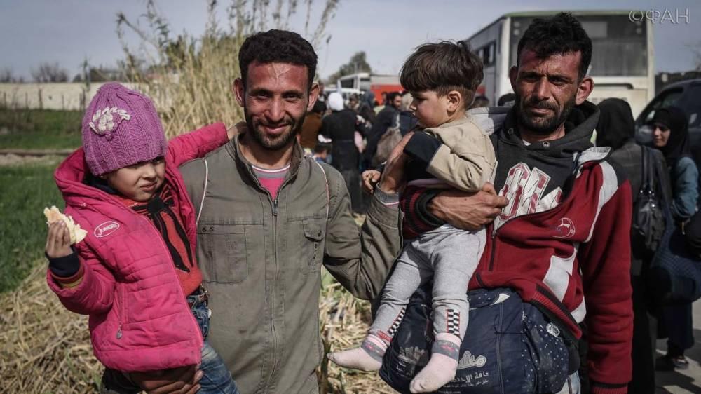 Сирия: беженцы возвращаются в восстановленный Кафер-Батна