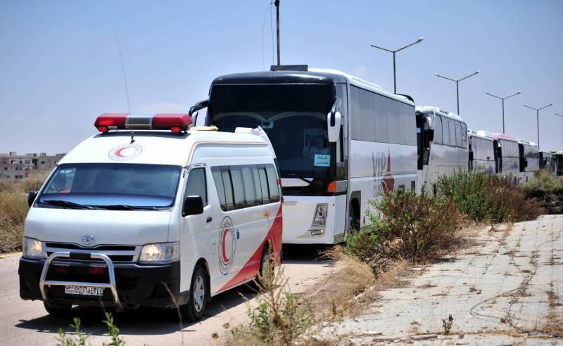 Ситуация в Сирии. Из Дараа вывезены первые 400 исламистов