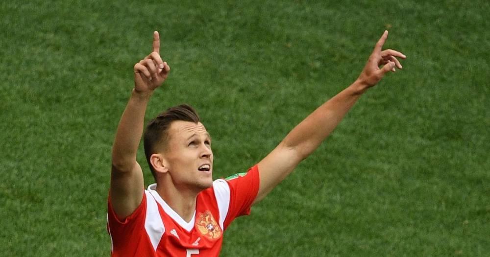 ФИФА назвала Черышева одним из главных открытий ЧМ-2018