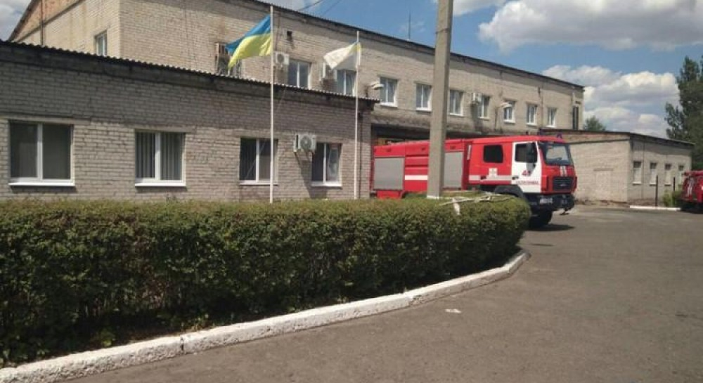 В Донецкой области пожарные выехали на ложный вызов, а впоследствии обнаружили, что их часть обокрали