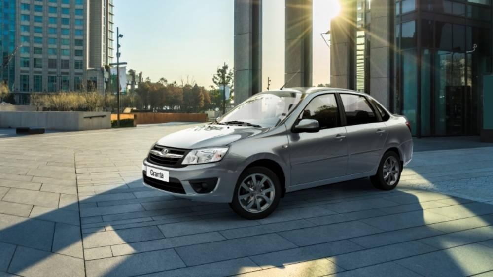 «АвтоВАЗ» представил обновленную версию седана LADA Granta