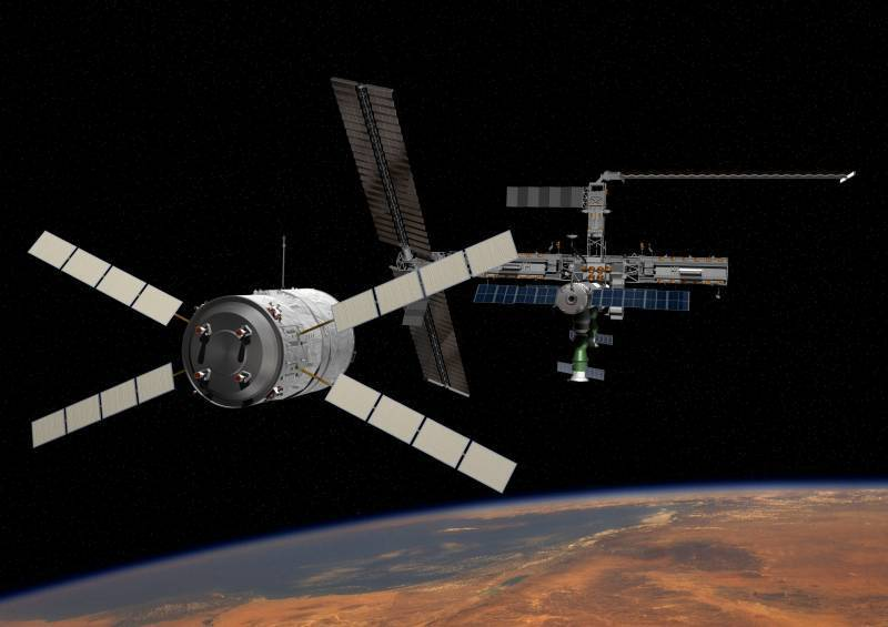 Окололунную станцию могут построить из модулей МКС