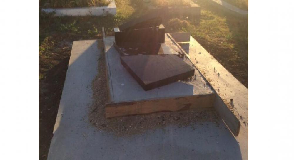 В Крыму вандалы разрушили мусульманское кладбище