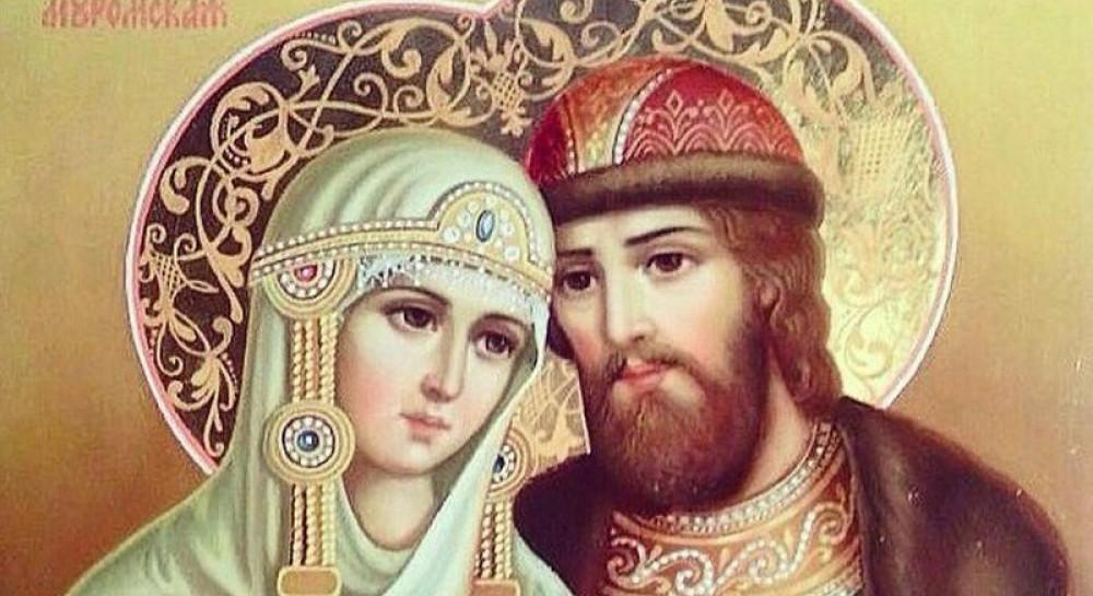 В Кривой Рог прибудут мощи святых Петра и Февронии, покровителей семьи и верности