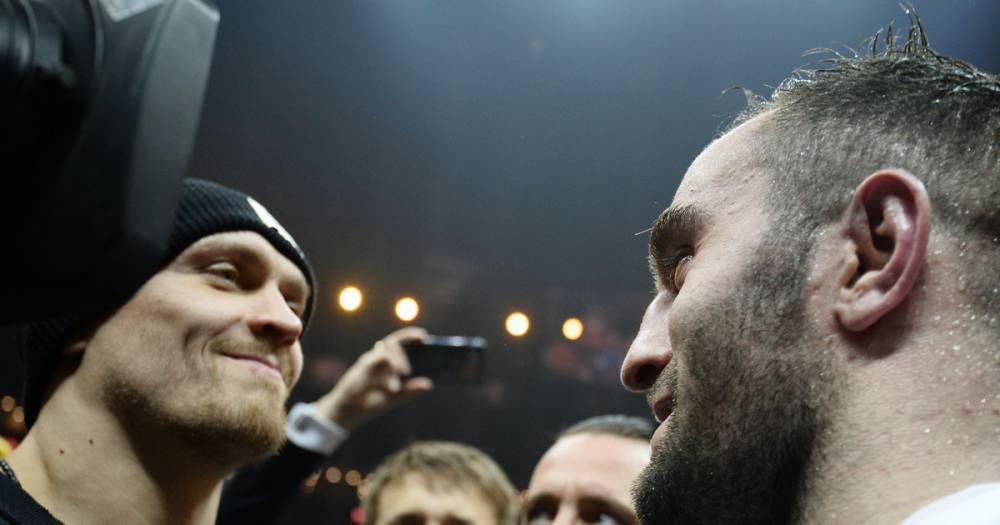 Украинский боксёр Усик сравнил бой с Муратом Гассиевым с финалом Лиги чемпионов