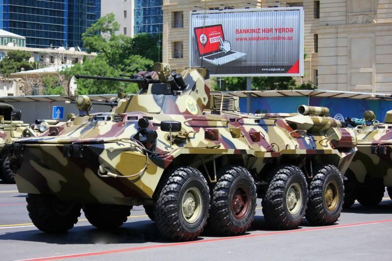 Военный парад в Азербайджане. Фоторепортаж