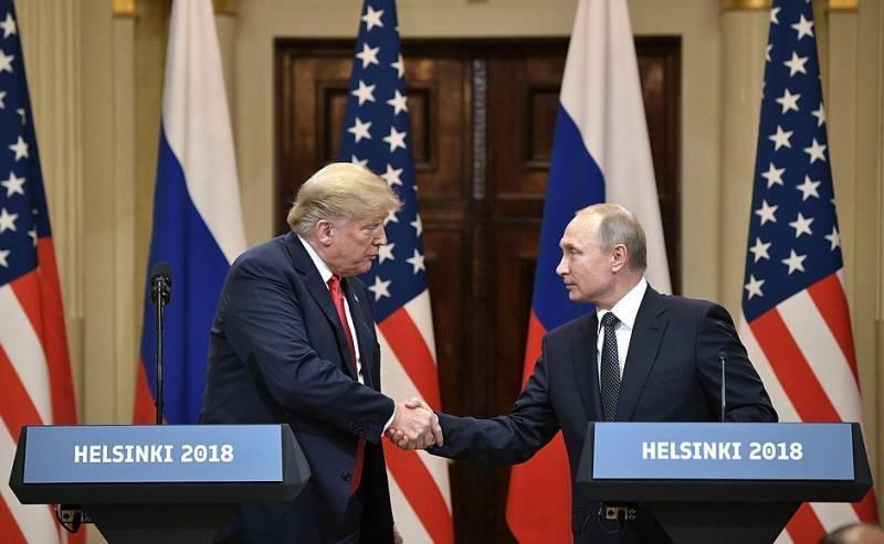 Американские СМИ: Путин предложил Трампу поддержать референдум на Донбассе