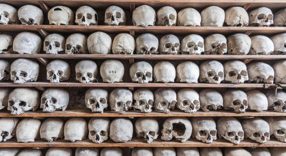 Из склепа британской церкви похищена коллекция человеческих черепов