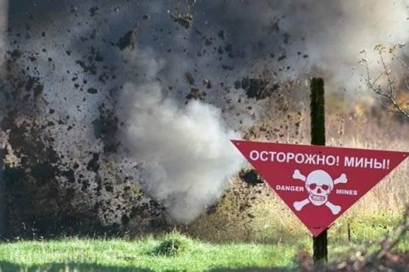 Бойцы ВСУ вновь подорвались на собственных минах
