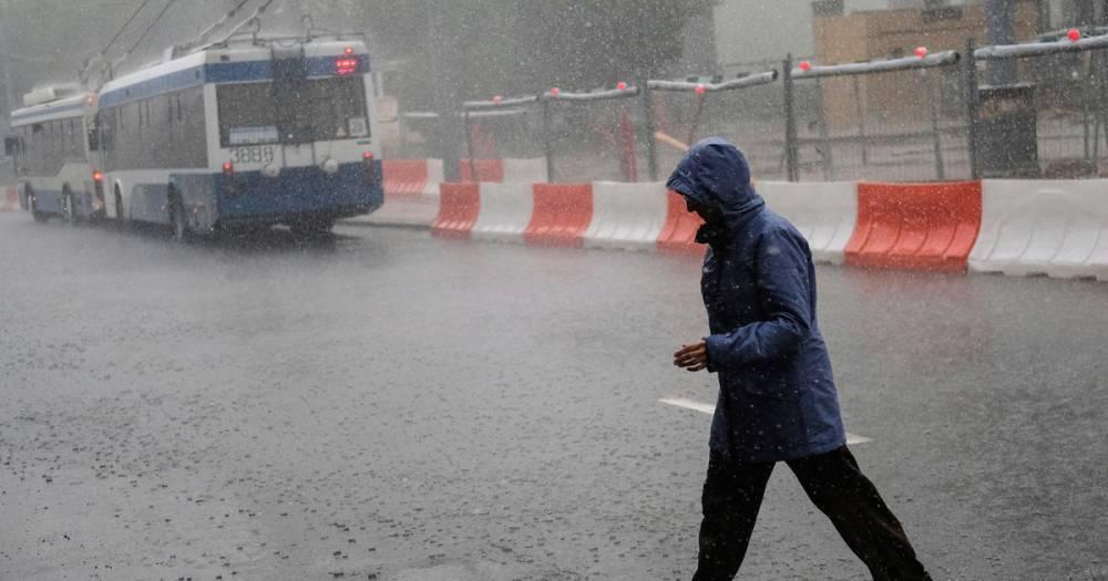 В Москве и области на 22 июля объявлен жёлтый уровень погодной опасности