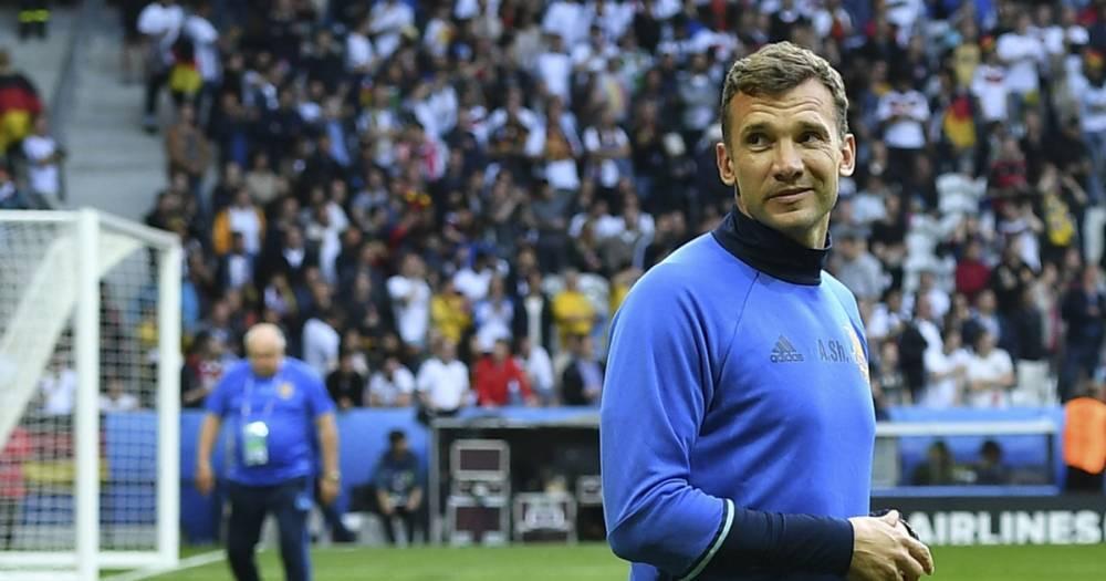 Шевченко продлил контракт со сборной Украины до 2020 года
