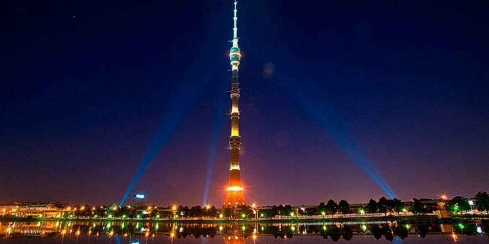 ВМоскве 28 спортсменов покорили Останкинскую башню