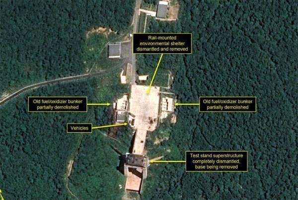 Ким начал демонтаж ракетного полигона Сохэ. Всё идёт по плану?