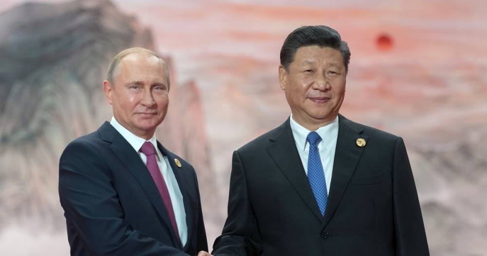 Путин в ЮАР встретился с Си Цзиньпином